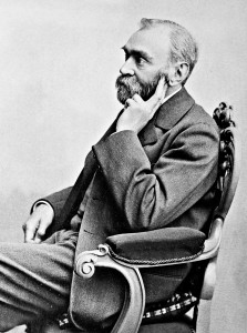 Alfred Nobel, Stifter und Namensgeber des Nobelpreises (CC BY Wikimedia Commons)